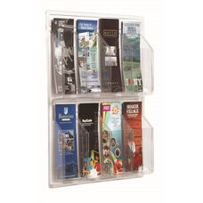 Clear-Vu Pamphlet Display - 8 Pamphlets