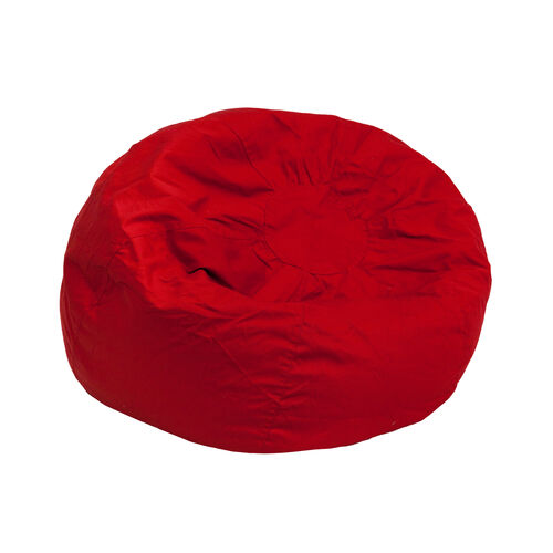 Our Small Solid Red Kids Bean Bag Chair is on sale now.
