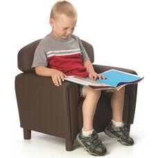 Just Like Home Enviro-Child Preschool Size Chair - Chocolate - 26