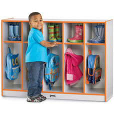 Rainbow Accents Toddler Coat Lockers