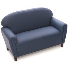 Just Like Home Enviro-Child School Age Sofa - Blue - 45