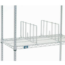 Single Silver EP Shelf Divider - 24