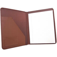 Writing Padfolio - Top Grain Nappa Leather - Tan