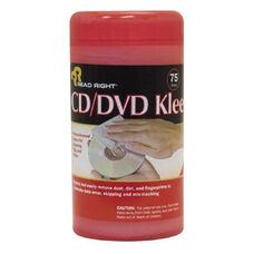 Read/Right Cd/Dvd Kleen Premoistened Wipes