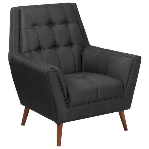 HERCULES Kensington Series Contemporary Tufted Arm Chair