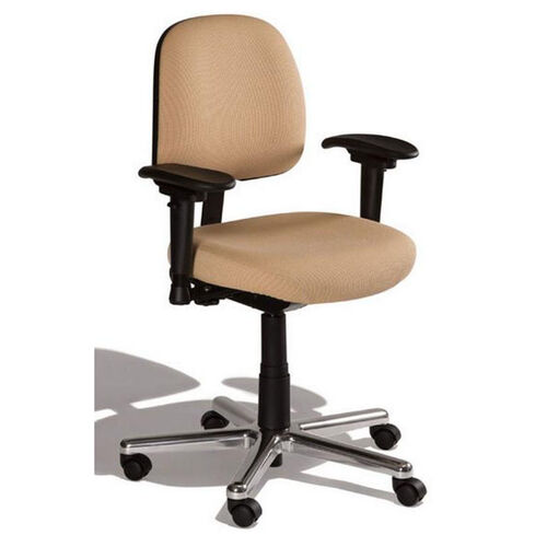 Our Fusion Medium Back Desk Height Chair - 4 Way Control is on sale now.