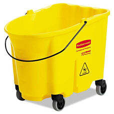 Rubbermaid® Commercial WaveBrake Bucket - 8.75gal - Yellow