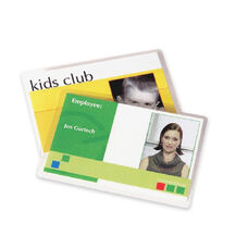 Fellowes 5Mil Laminating Id Pouches - Pack Of 100