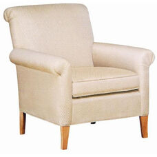 2485 Lounge Chair w/ Upholstered Spring Back & Seat - Grade 1