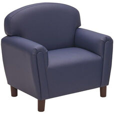 Just Like Home Enviro-Child School Age Chair - Deep Blue - 29