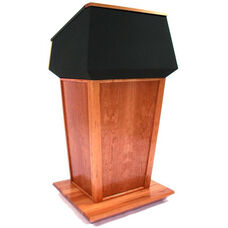 Patriot Plus Non-Sound Lectern - Mahogany Finish - 31