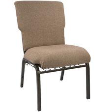 Advantage Mixed Tan Discount Church Chair - 21 in. Wide