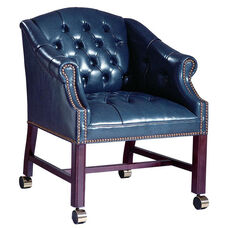 Hamilton Series Conference Chair with Tufts and Casters