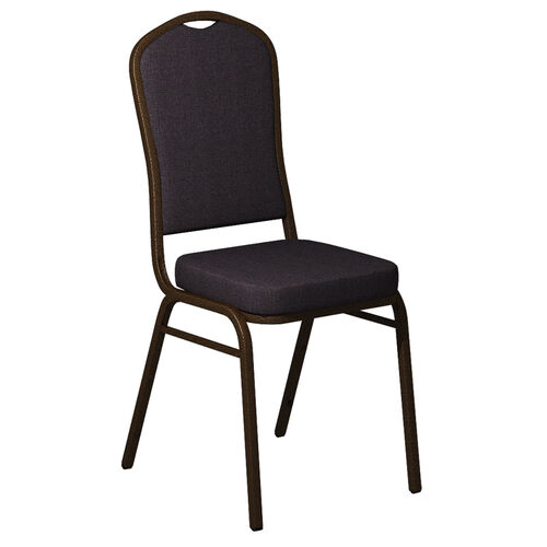 Our Embroidered Crown Back Banquet Chair in Shire Stable Fabric - Gold Vein Frame is on sale now.