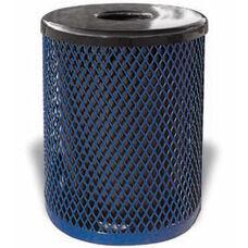 32 Gallon Trash Receptacle Diamond Pattern