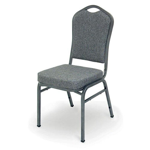 Our Superb Seating Heavy-Duty Steel Frame Fabric Upholstered Stacking Chair - Charcoal is on sale now.