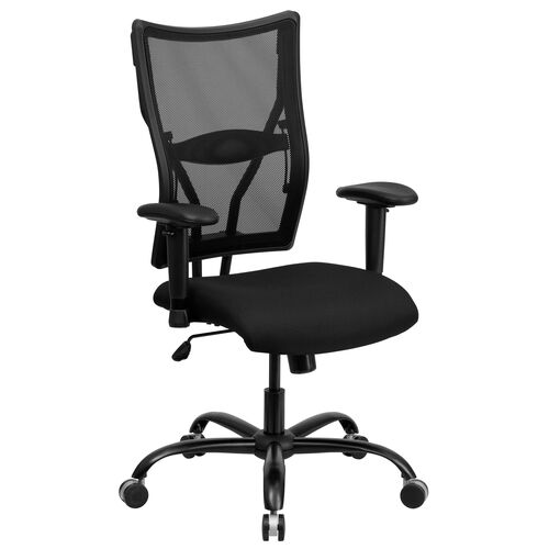 Our HERCULES Series Big & Tall 400 lb. Rated Black Mesh Executive Swivel Ergonomic Office Chair with Adjustable Arms is on sale now.
