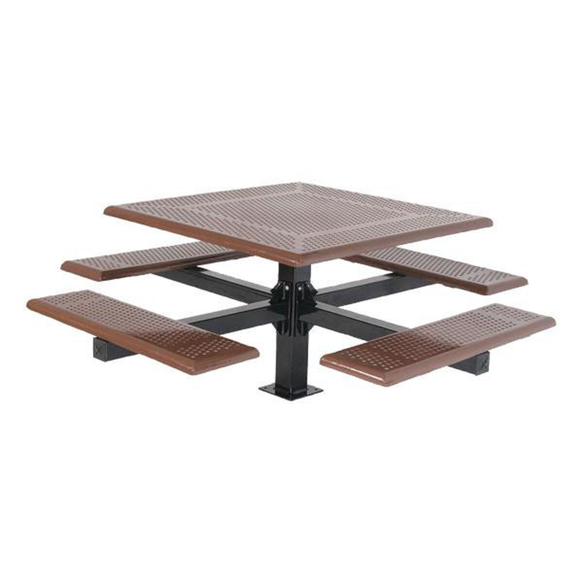 Square Cantilever Picnic Table ChurchChairsLesscom - Picnic table legs for sale