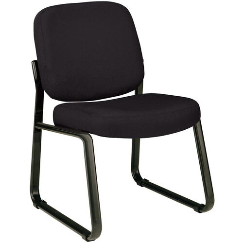 Guest and Reception Chair - Black