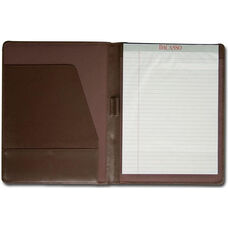 Standard Lightweight Design Leather Portfolio - Chocolate Brown
