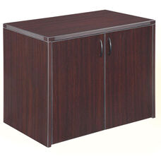 Fairplex Two Door Cabinet - Mocha