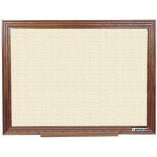 114 Series Wood Frame Tackboard - Fabricork - 72