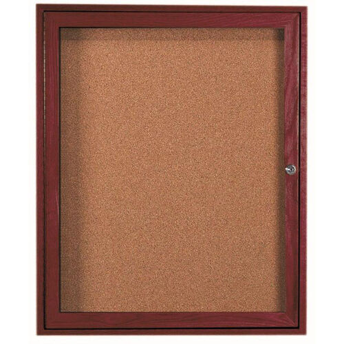 Our 1 Door Enclosed Bulletin Board - 36