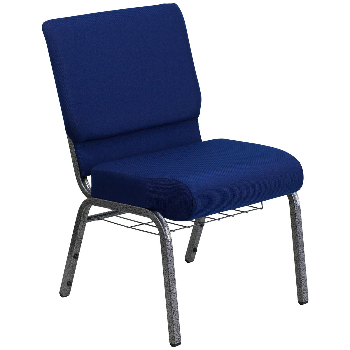 Flash furniture hercules series 21 39 39 w church chair in navy for Furniture 4 less