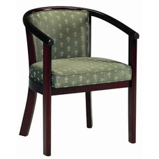 2650 Lounge Chair w/ Upholstered Back & Webbed Seat - Grade 1