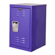 Pep Rally Purple Kids Mini Locker - Unassembled - 15