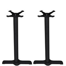 Set of 2 - Advantage 5x22-in. Bar & Restaurant Table Bases