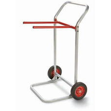 Steel Frame Folding Chair Dolly with 8