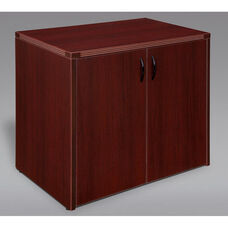 Fairplex Two Door Cabinet - Mahogany