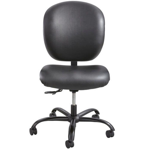 Our Alday™ 24/7 Big and Tall Vinyl Task Chair with Plastic Ergo Core Back - Black is on sale now.