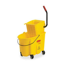 Rubbermaid Commercial Products Mop Bucket/Wringer Combination - 16.07