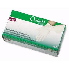 Medline Curad Powder Free Latex Exam Gloves - Large