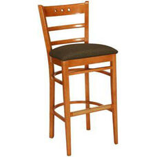 1857 Bar Stool w/ Upholstered Seat - Grade 1