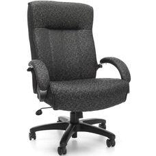 Big & Tall Executive High-Back Chair - Gray Carbon