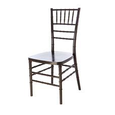 American Classic Wood Chiavari Chair - Set of 2 - Black