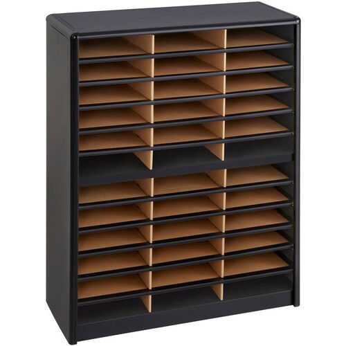 Our Value Sorter® Thirty-Six Compartment Literature Sorter and Organizer - Black is on sale now.