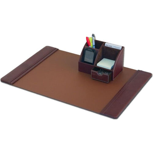 Our Classic Leather 2 Piece Desktop Organizer Desk Set - Mocha is on sale now.