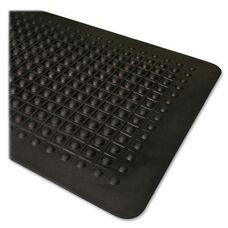 Genuine Joe Anti Fatigue Mat - Beveled Edge - Black
