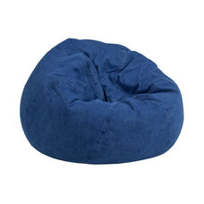 Small Denim Kids Bean Bag Chair