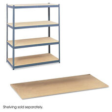 Safco® Particleboard Shelves for Steel Pack Archival Shelving - 69w x 33d - Box of 4