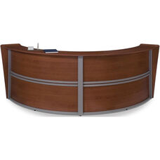 Marque Double-Unit Reception Station - Cherry