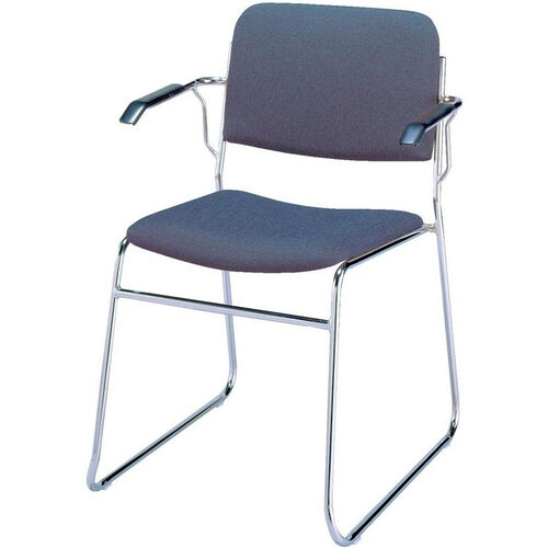 Our 300 Series Stacking Steel Frame Guest Armchair with Sled Base and 1.5