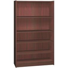 General Line 60 Adjustable Bookcase w/ 3 Adjustable Shelves
