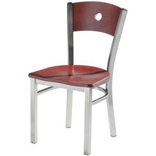Americana Woods Circle Wood Back Chair