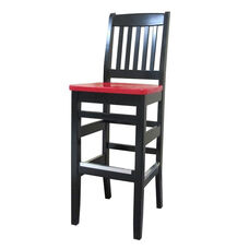 Bubba Bar Stool - Wood Seat
