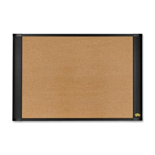 3M Cork Bulletin Board - Self Sticking - Brown